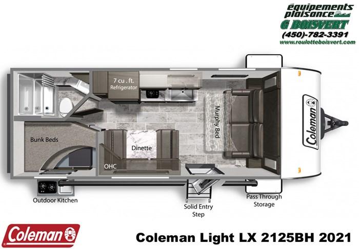2021 Coleman Lantern Light LX 2125BH Photo 10 of 10