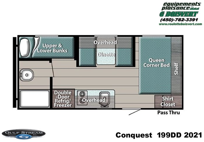 2021 Conquest 199DD Photo 7 of 7