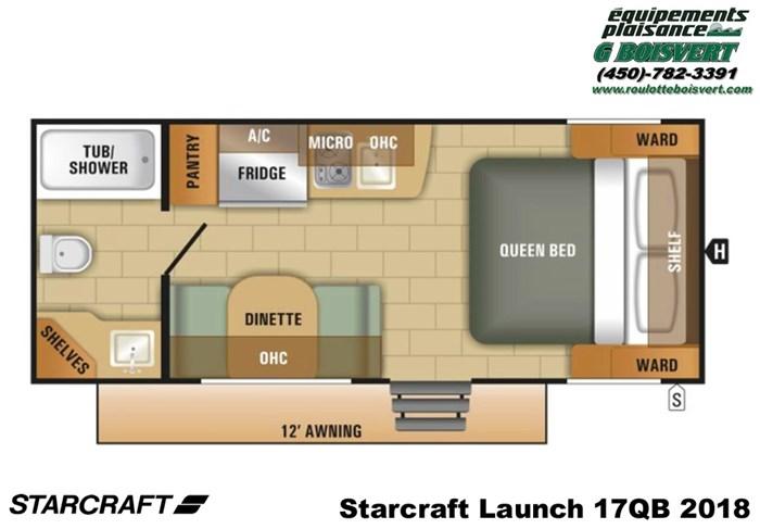 2018 Starcraft Launch 17QB Photo 7 of 39